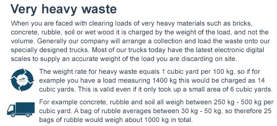 Heavy Waste Clearance Services across Brent
